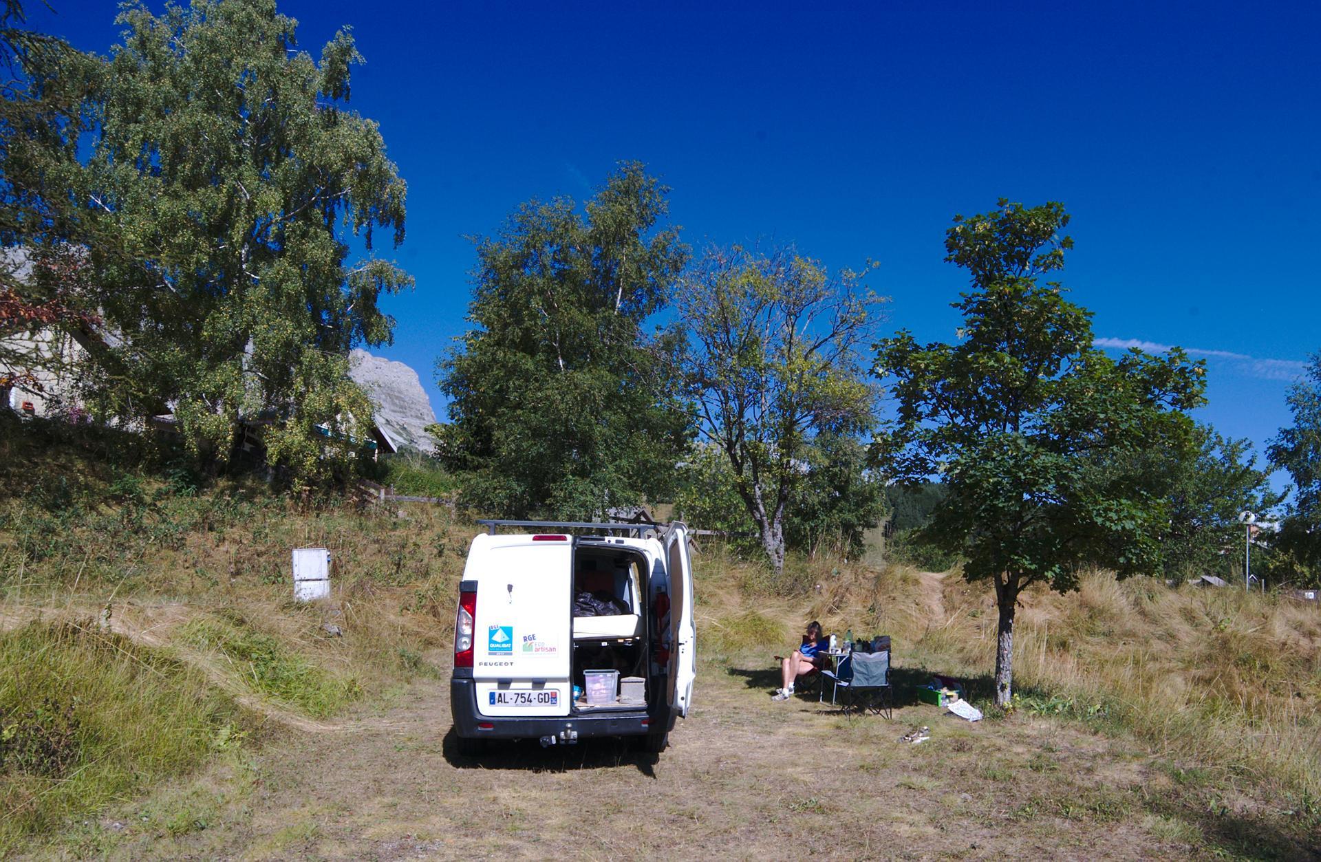 camping Grese en Vercors