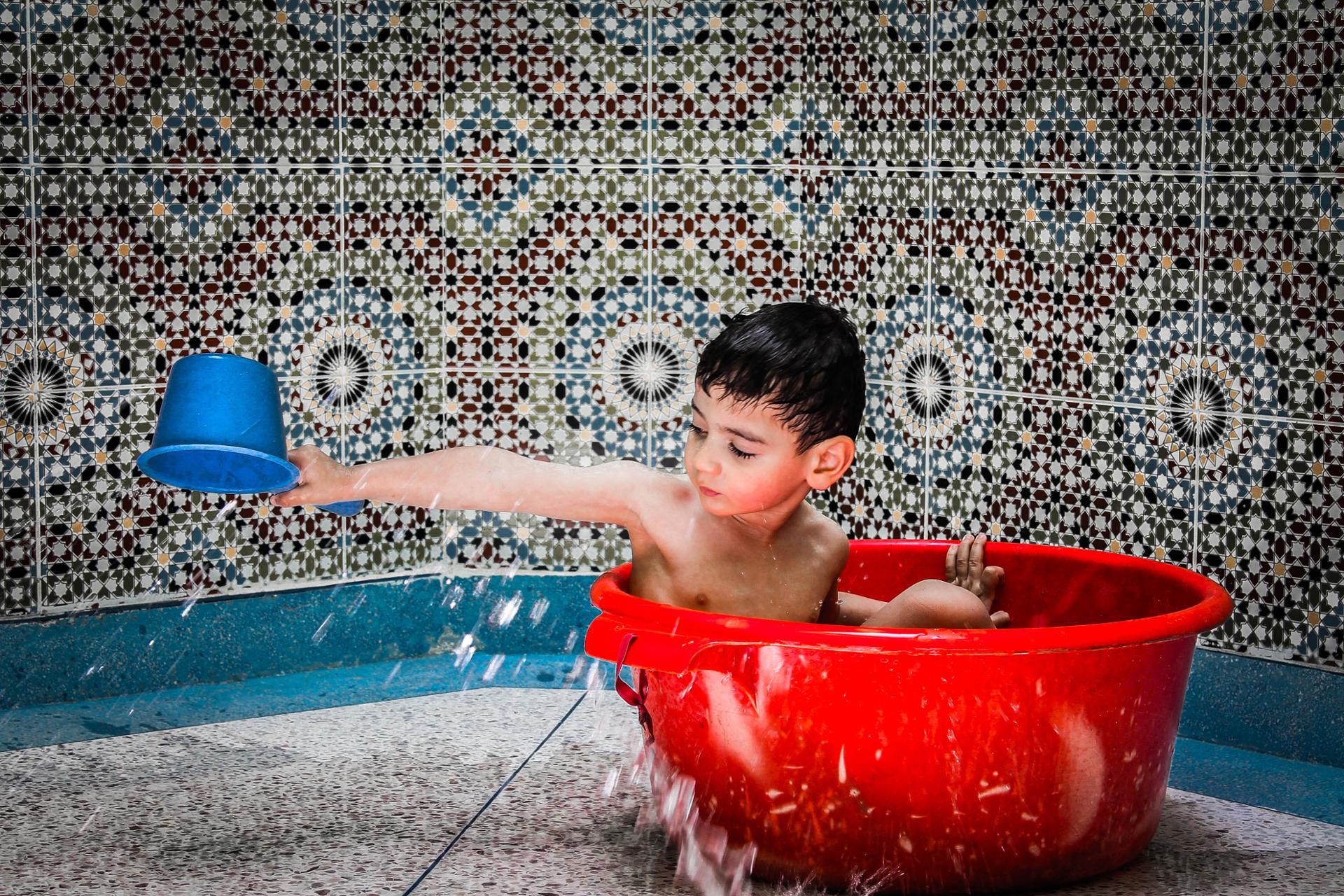 un bon bain