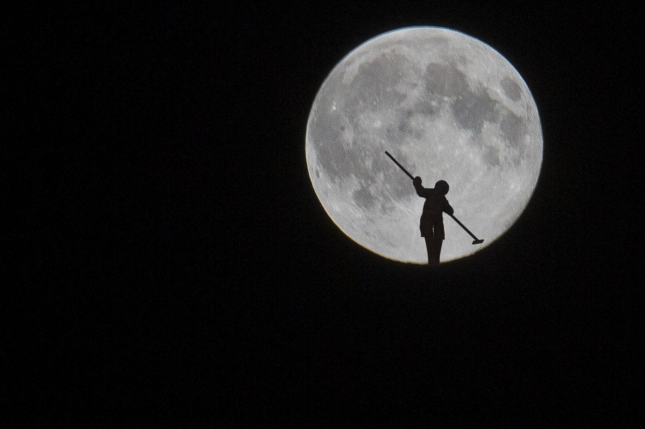 Pleine lune au pays du sel…
