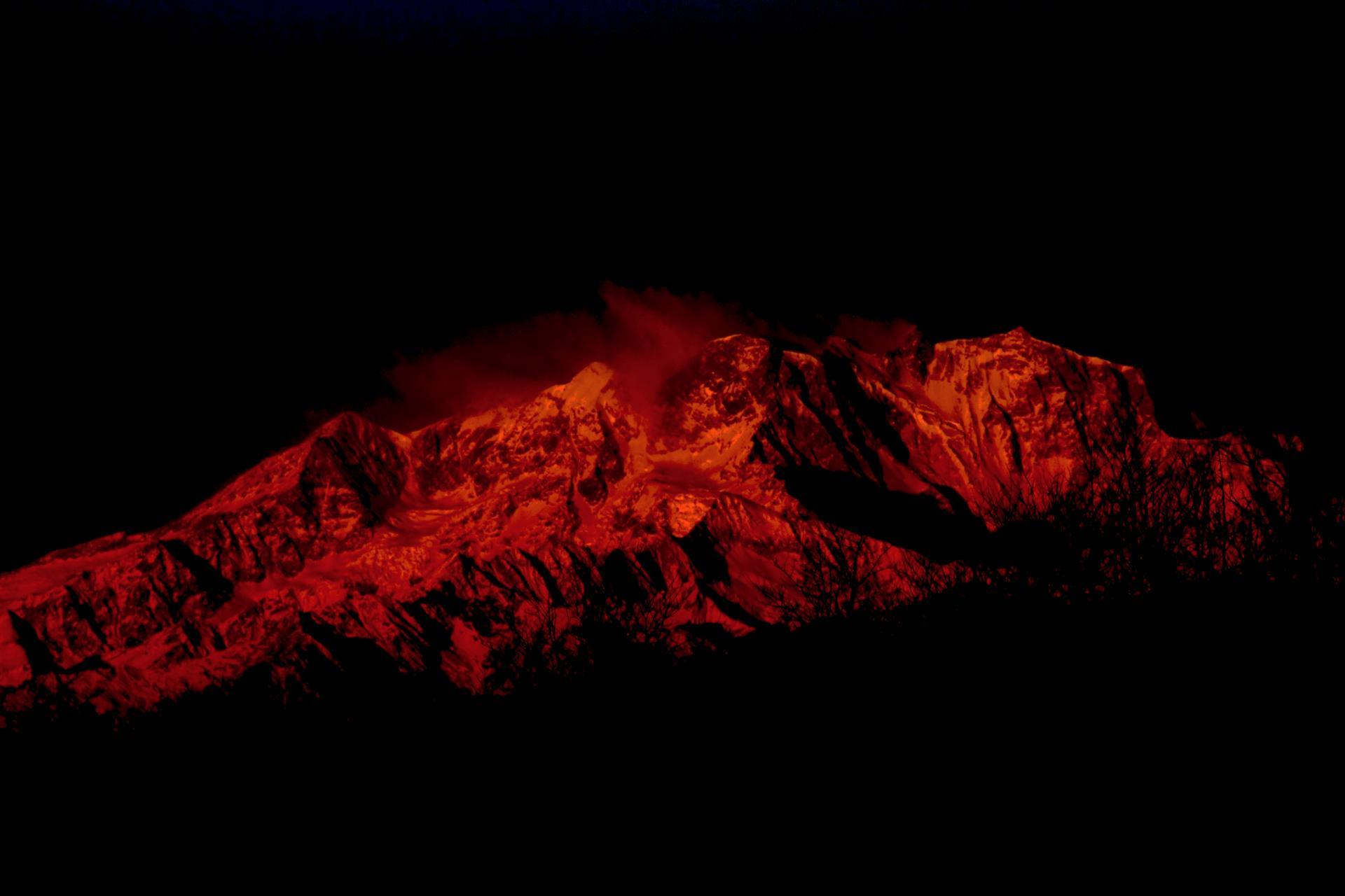 La montagne de feu
