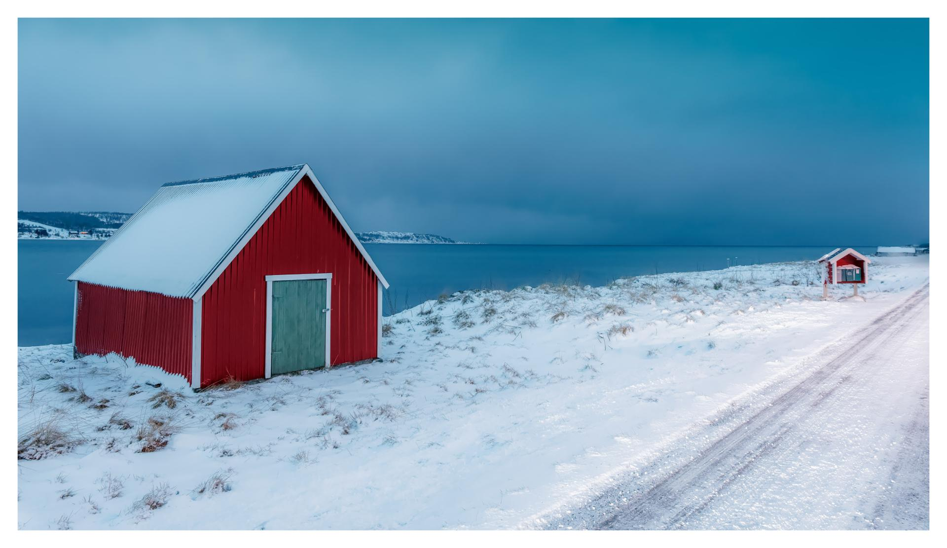 les couleurs de l'hiver...