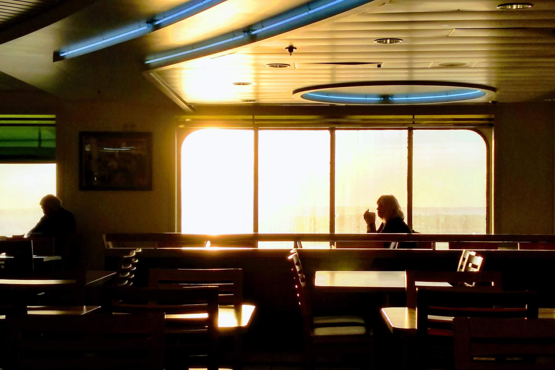 La dame du ferry