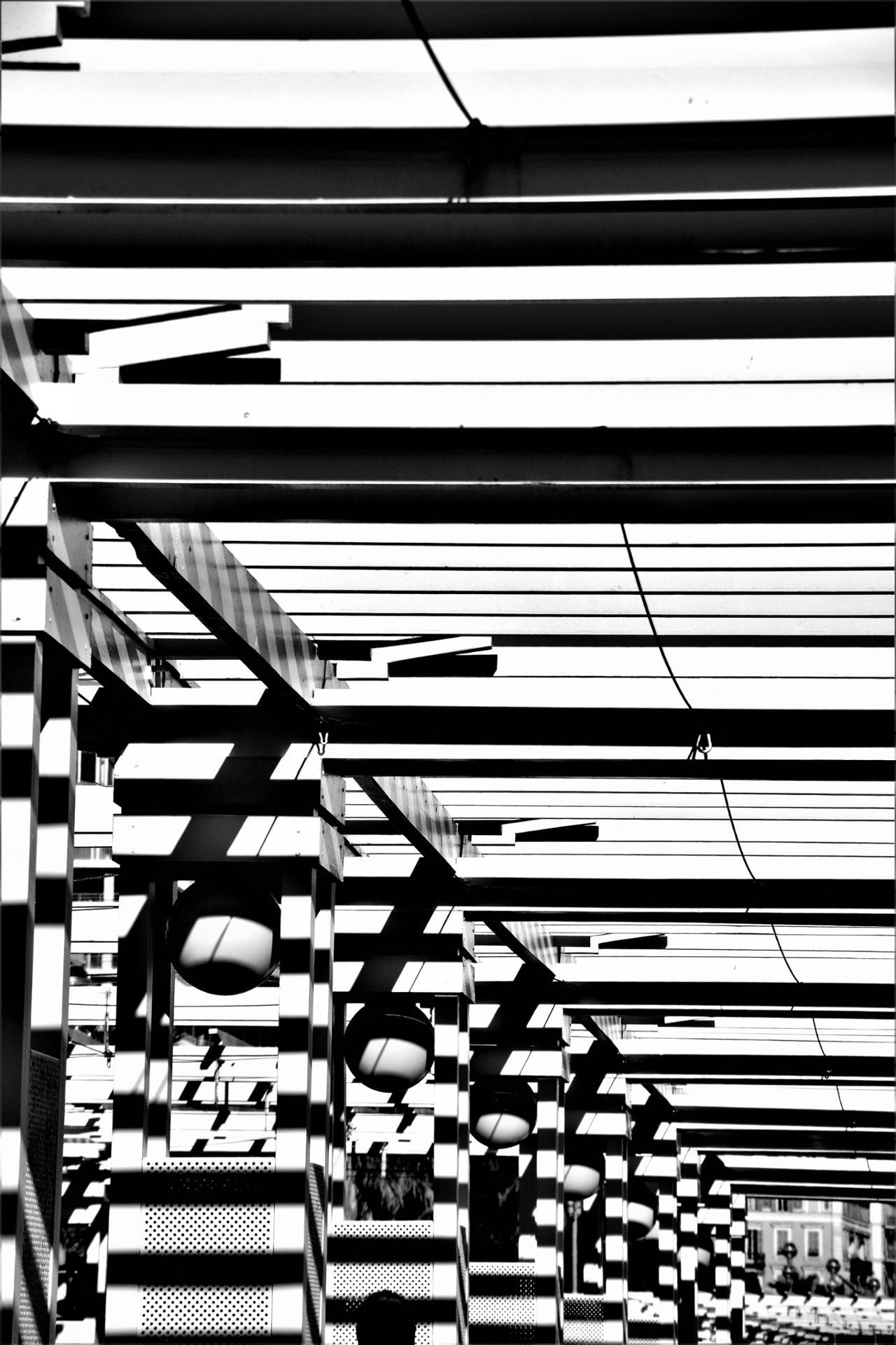 Lignes croisées.