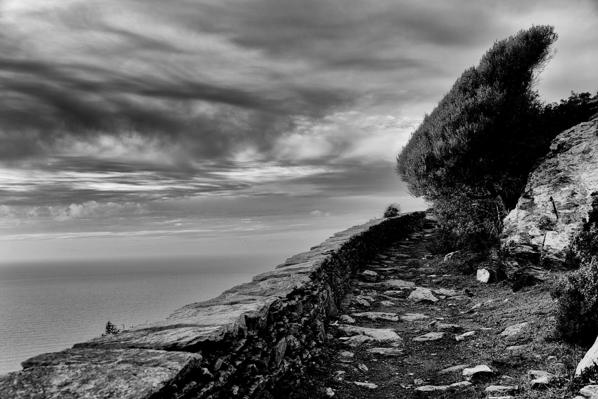 Les sculptures du vent posées sur l'ancien chemin des bergers...