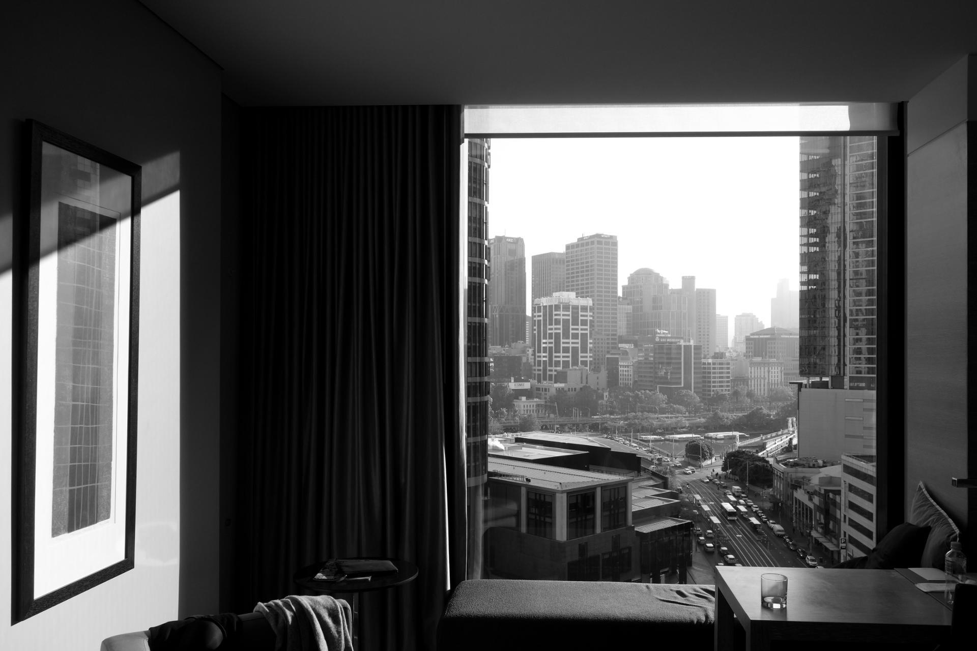 Une chambre à Melbourne