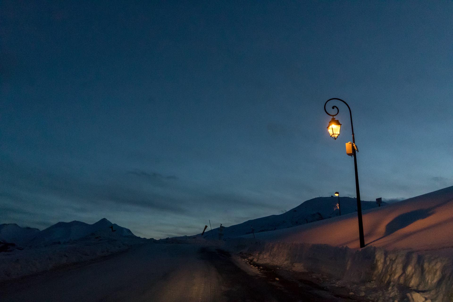 lampadaire de montagne
