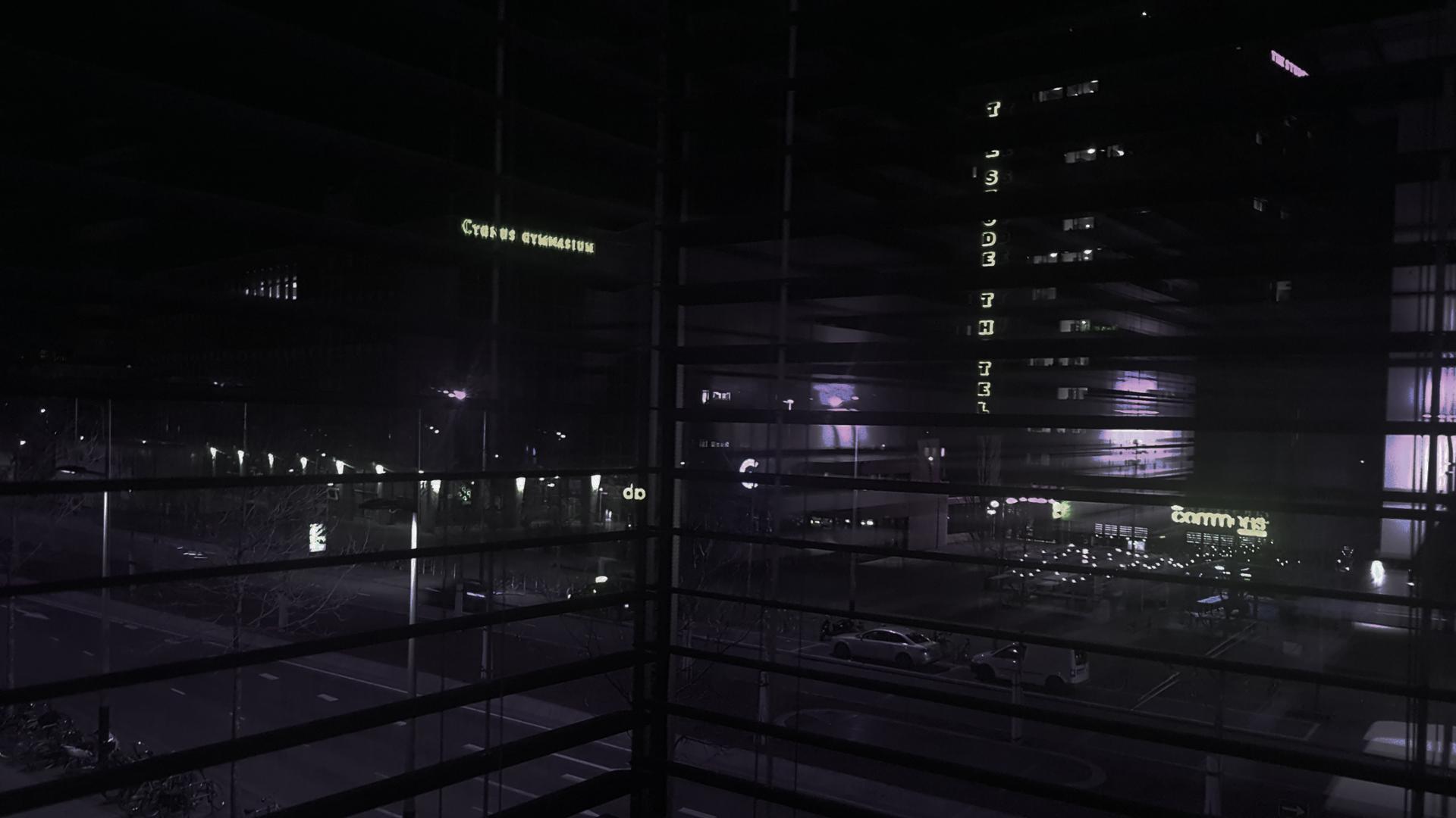 La nuit d'Amsterdam