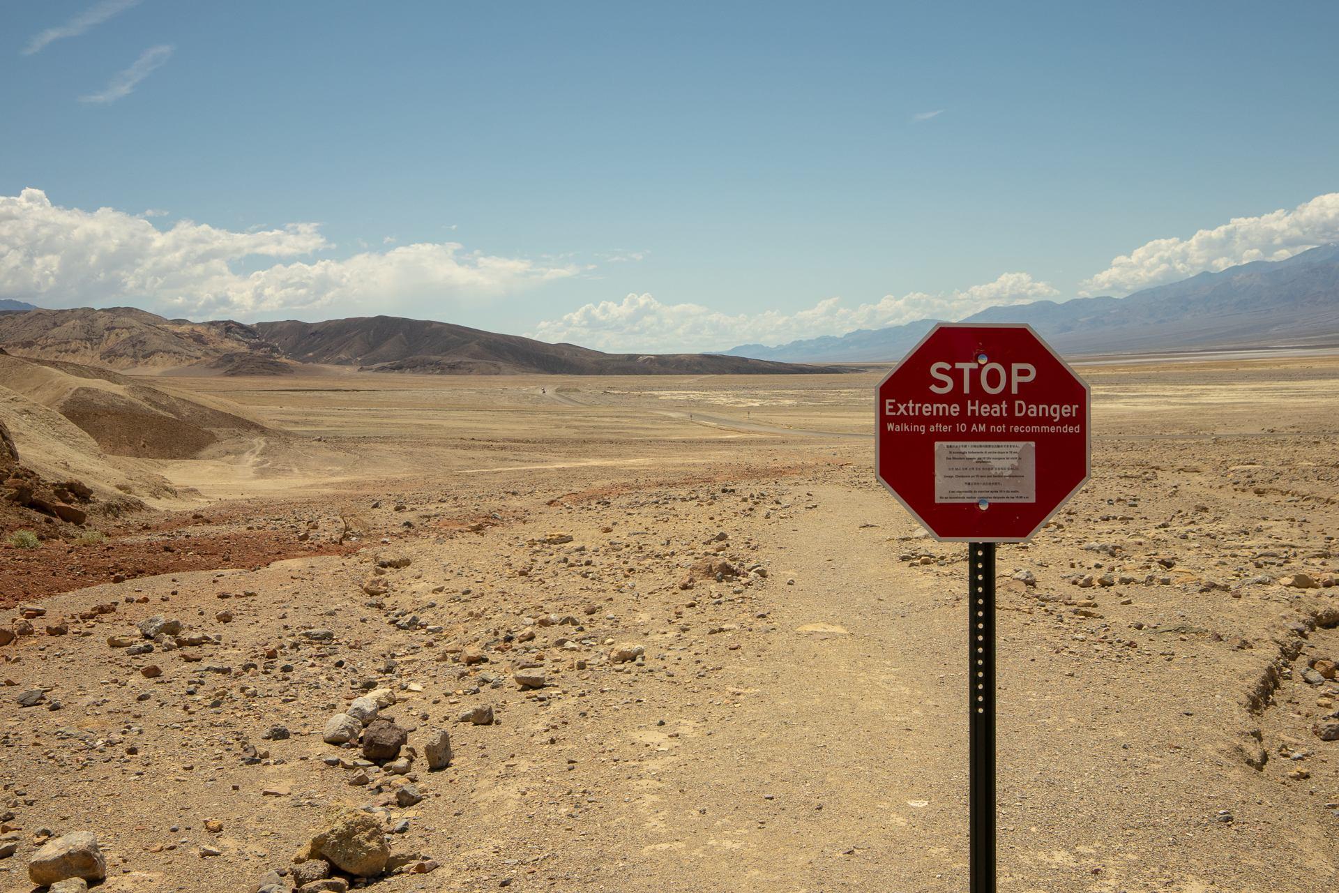 Extreme heat danger