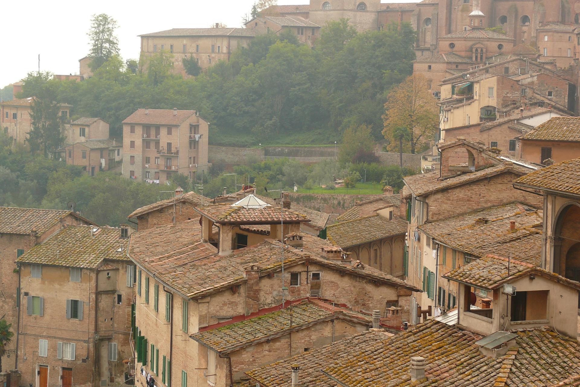 Brume matinale sur la Toscane