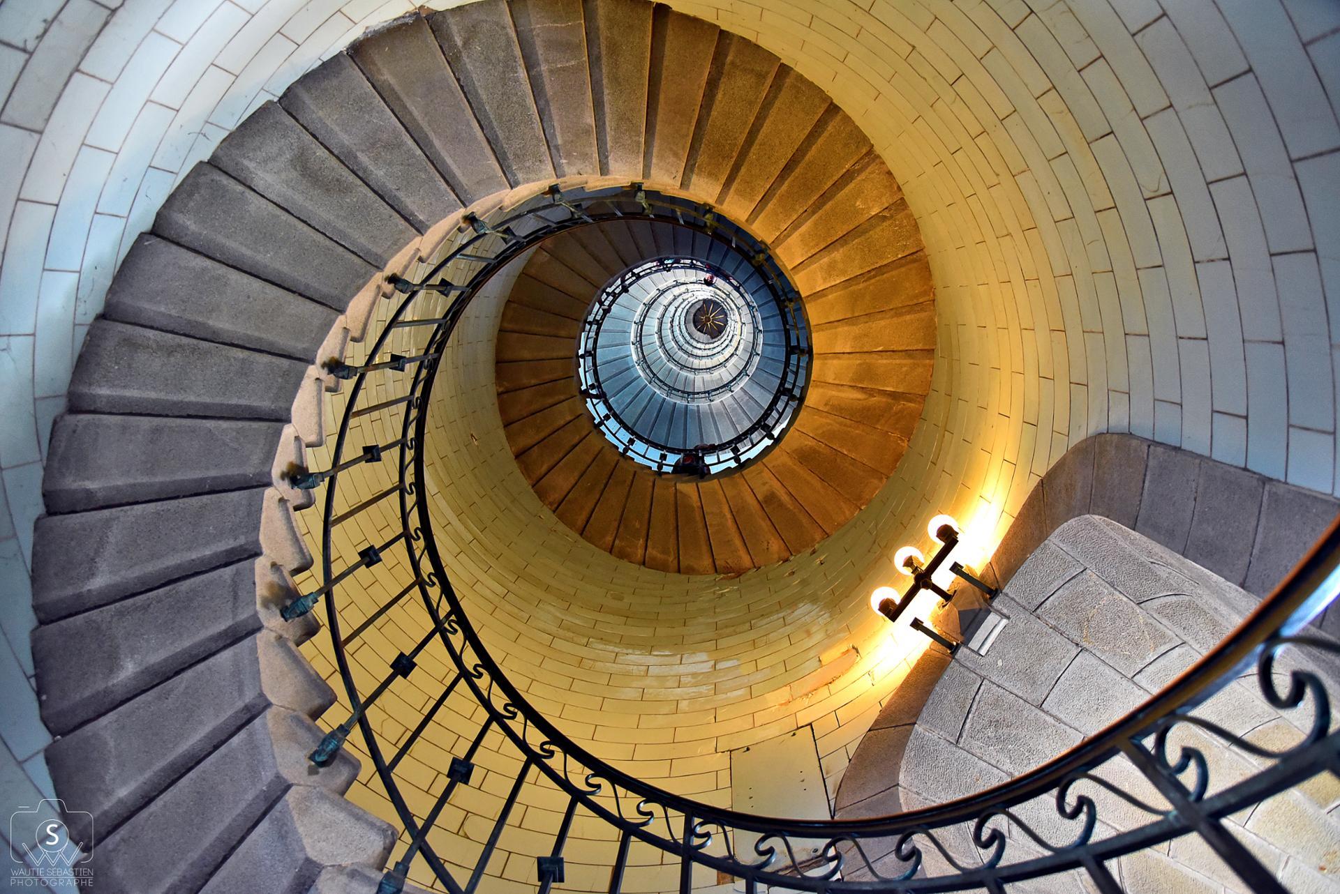 escaliers du Phare d'Eckmühl