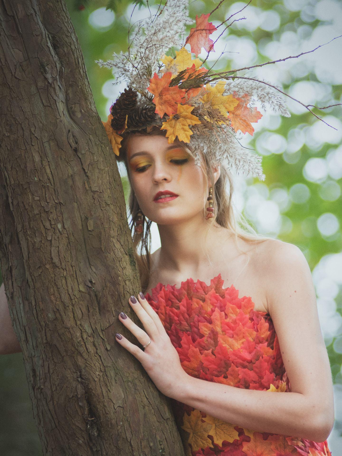 Dame d'automne