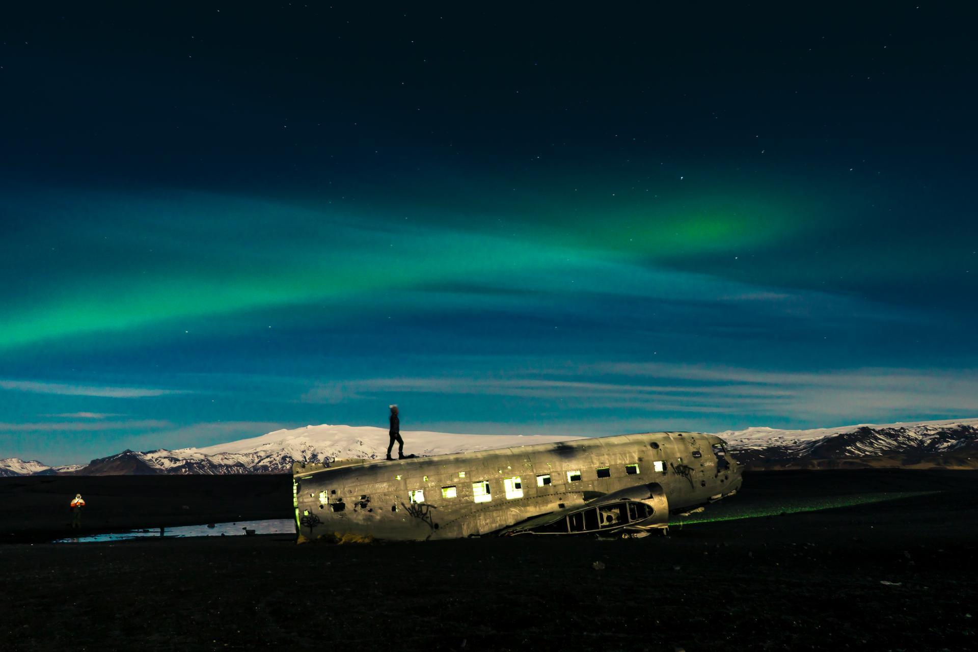 DC-3 Plane, Iceland