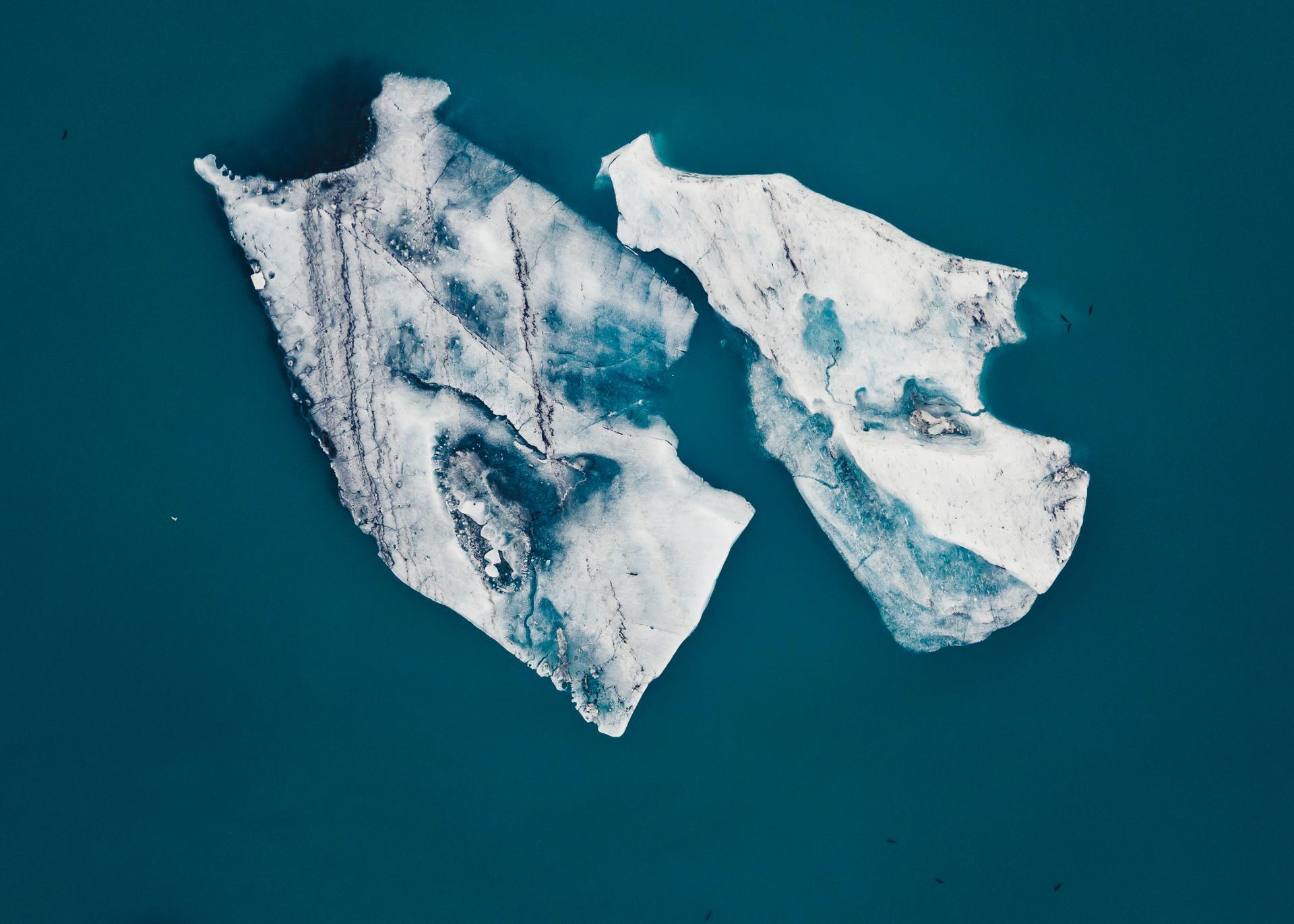 Iceberg of Jokulsarlon, Iceland