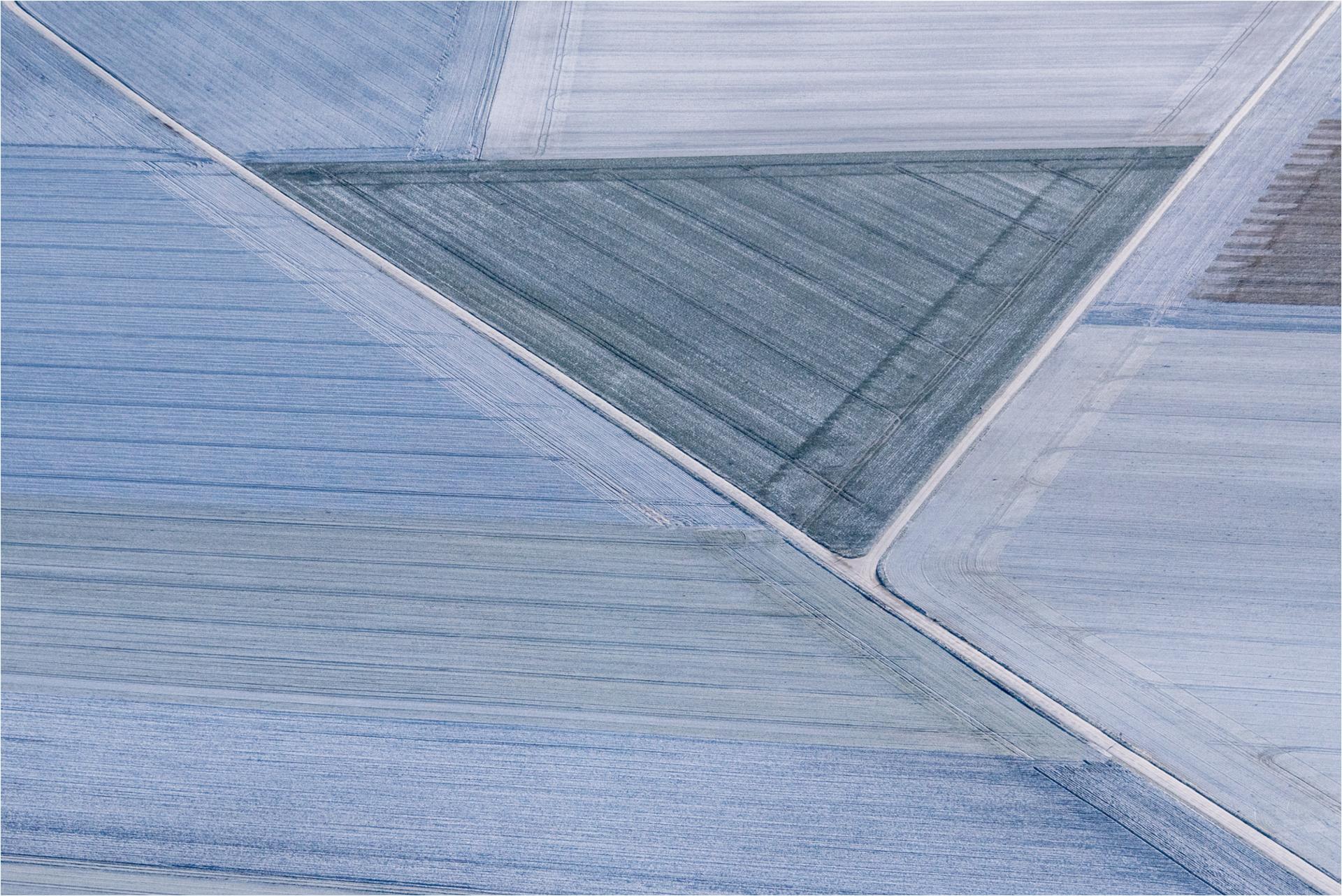 triangles givrés