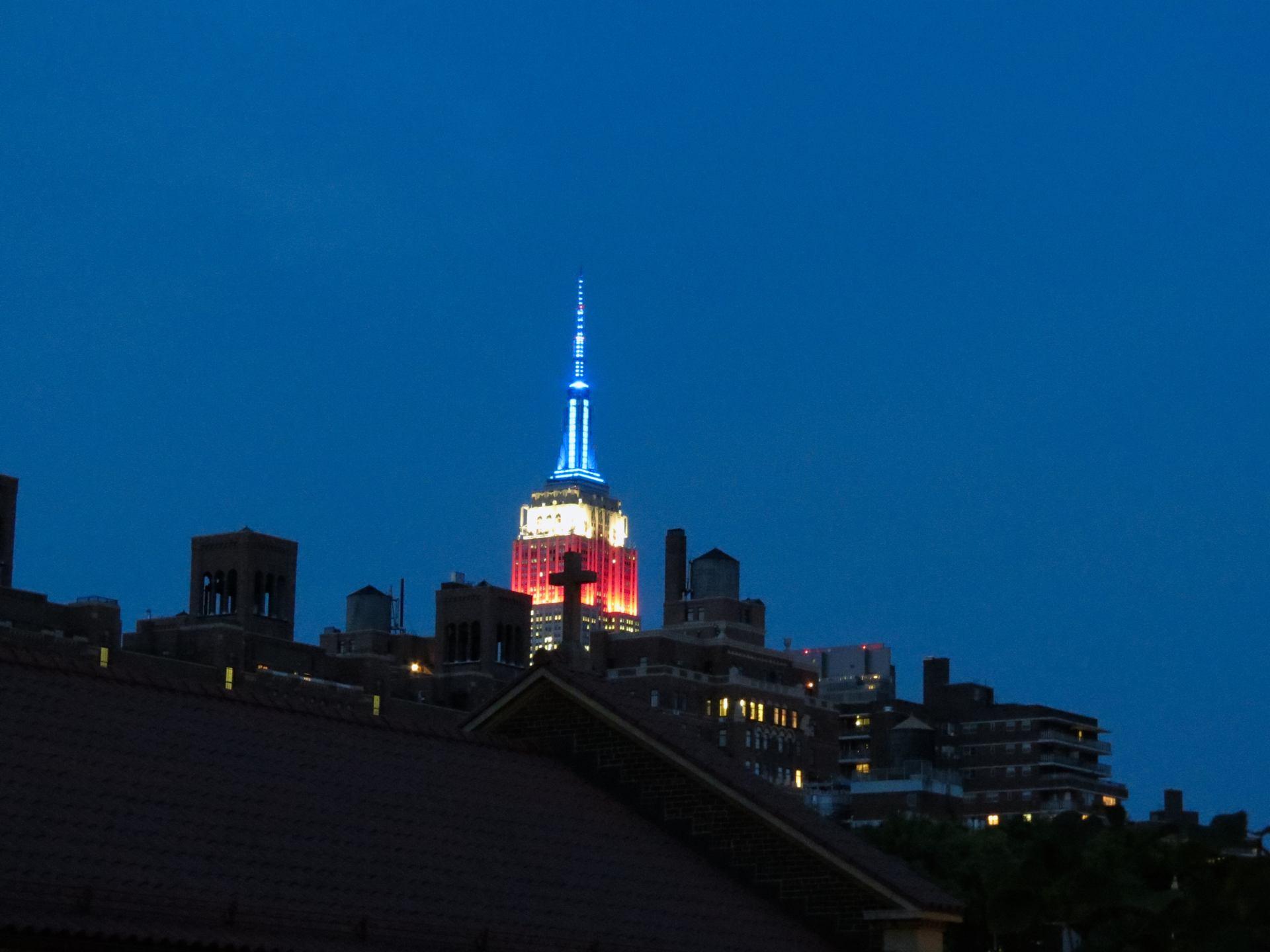 Toits et Empire State Building