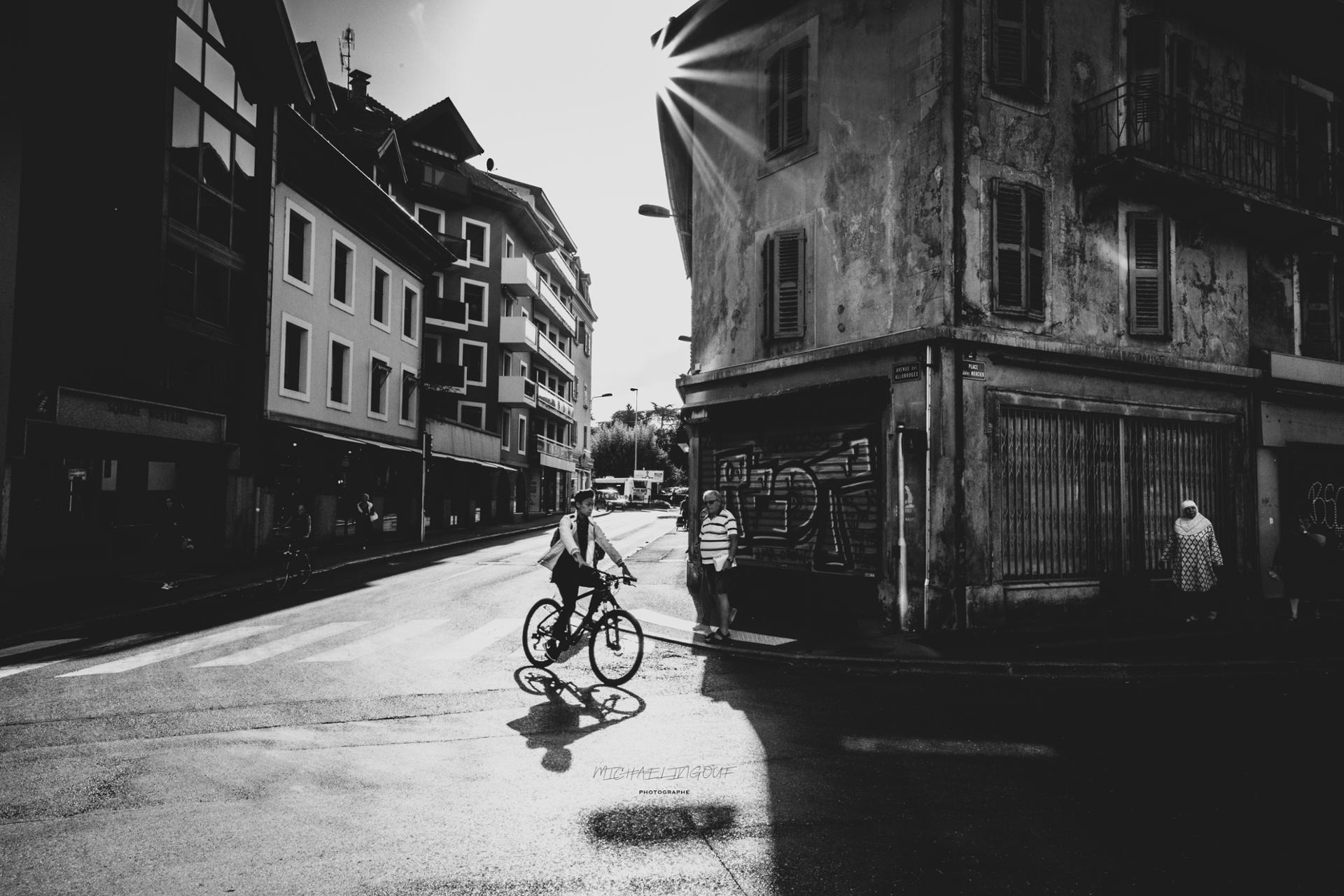 Velo in the street