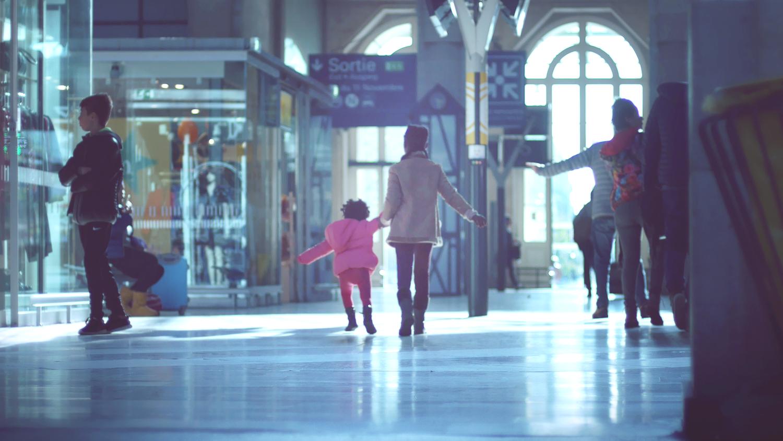 Deux soeurs à Gare de l'Est
