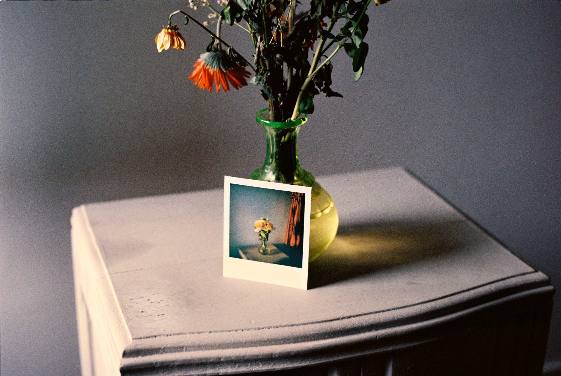 Nostalgie du bouquet de fleurs