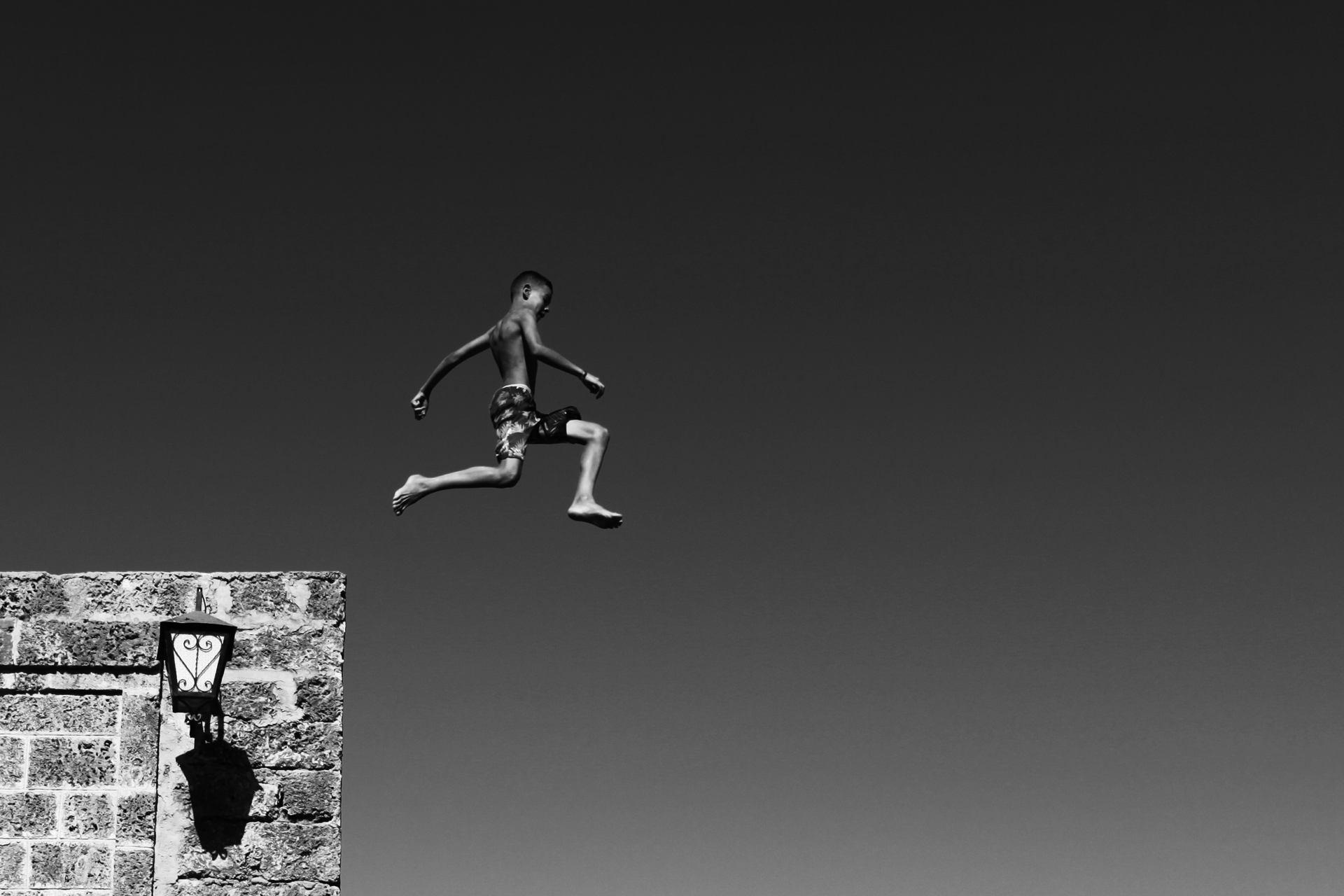 Le saut, Bizerte