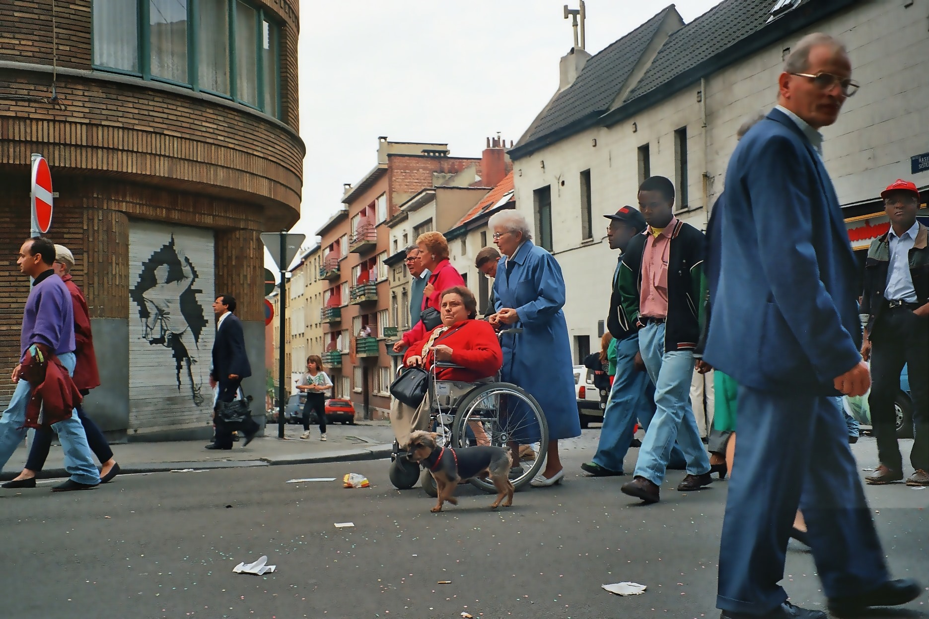 Quartier Les Marolles, multicultural neighborhood