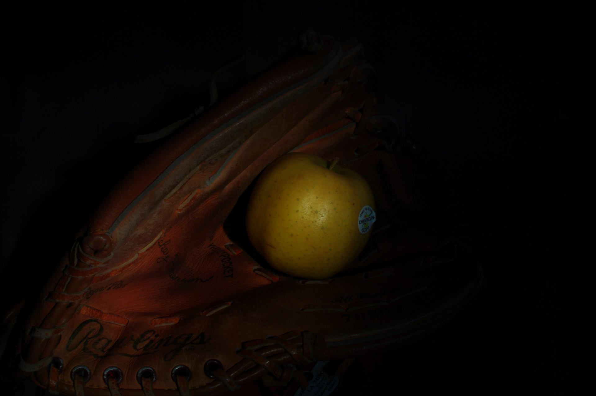 base-ball et pommes