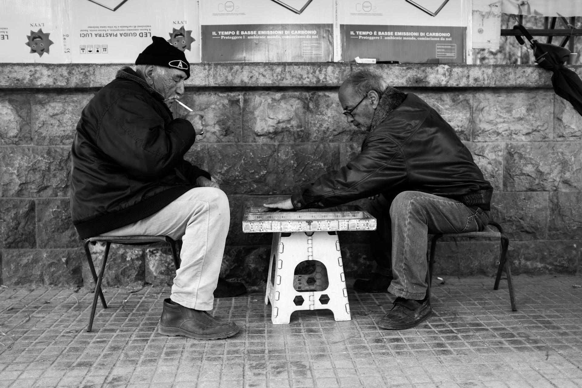 Backgammon à Beyrouth