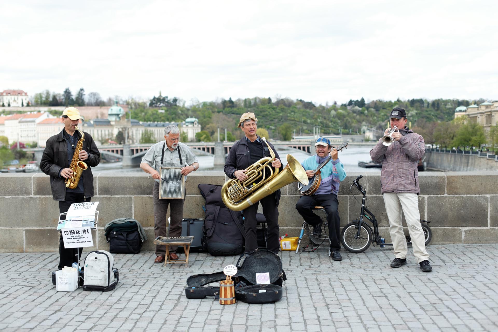 Musiciens du pont Charles