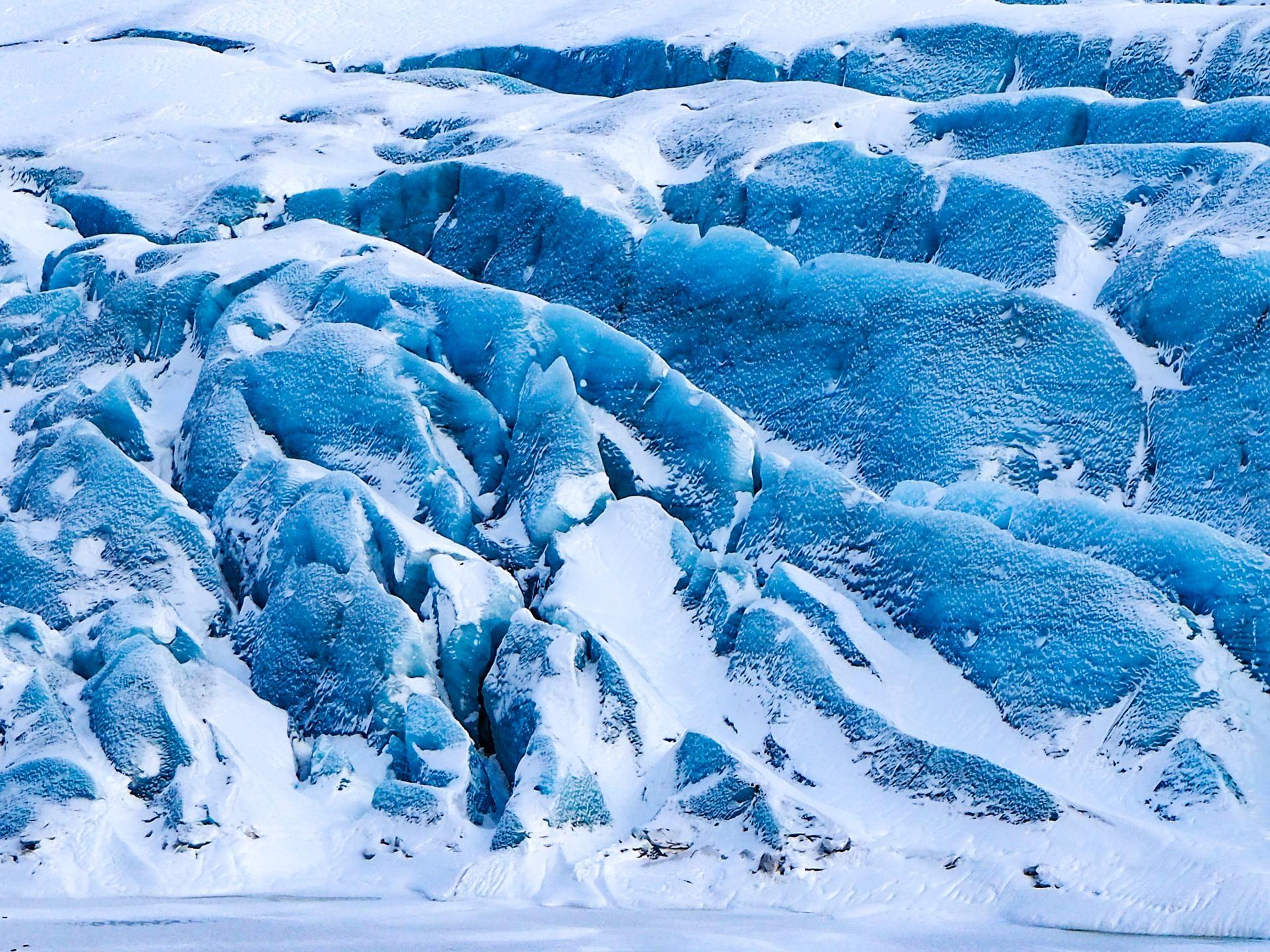 coulée de glace