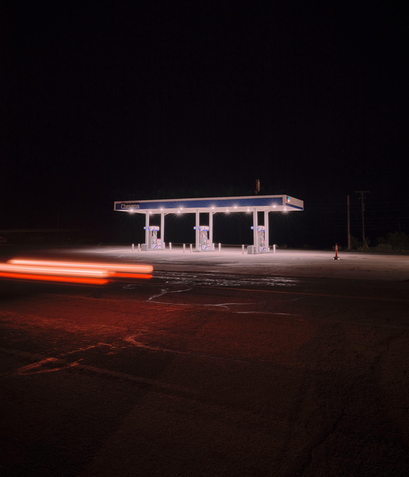 Gas Station, Holbrook, Arizona 2019.