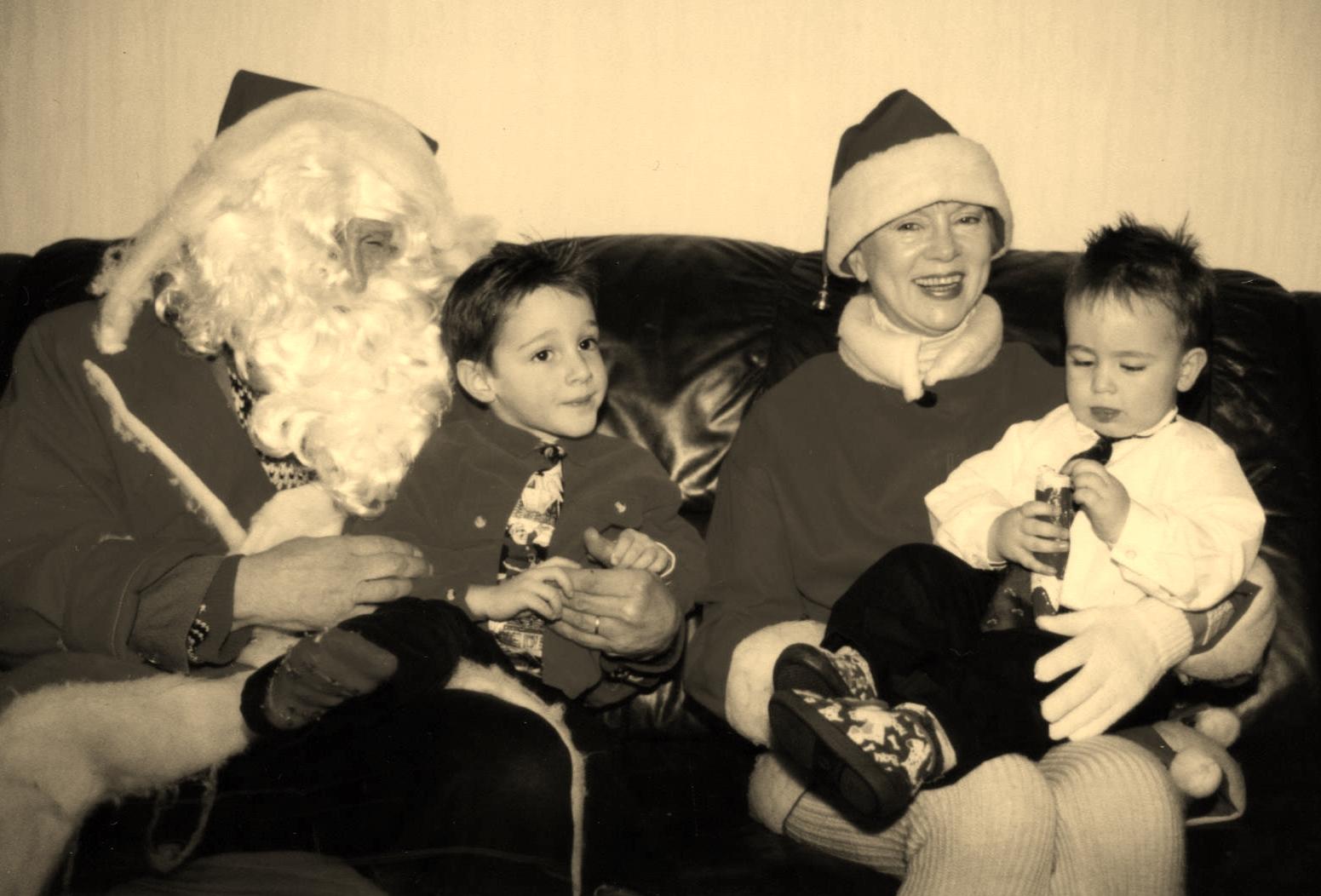 papy Noël et mamie  Noël