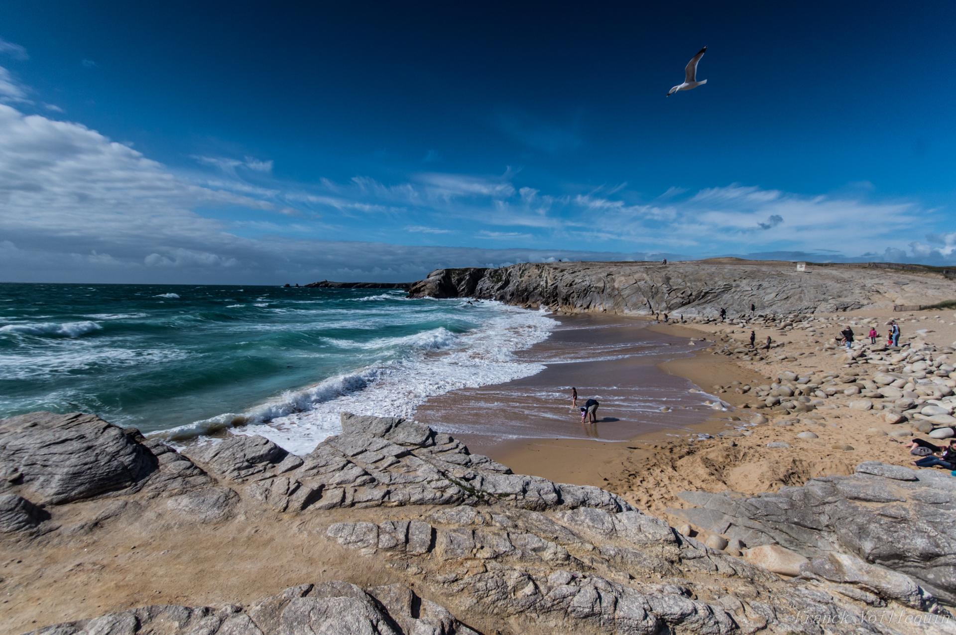 Côte sauvage - Presqu'île de Quiberon