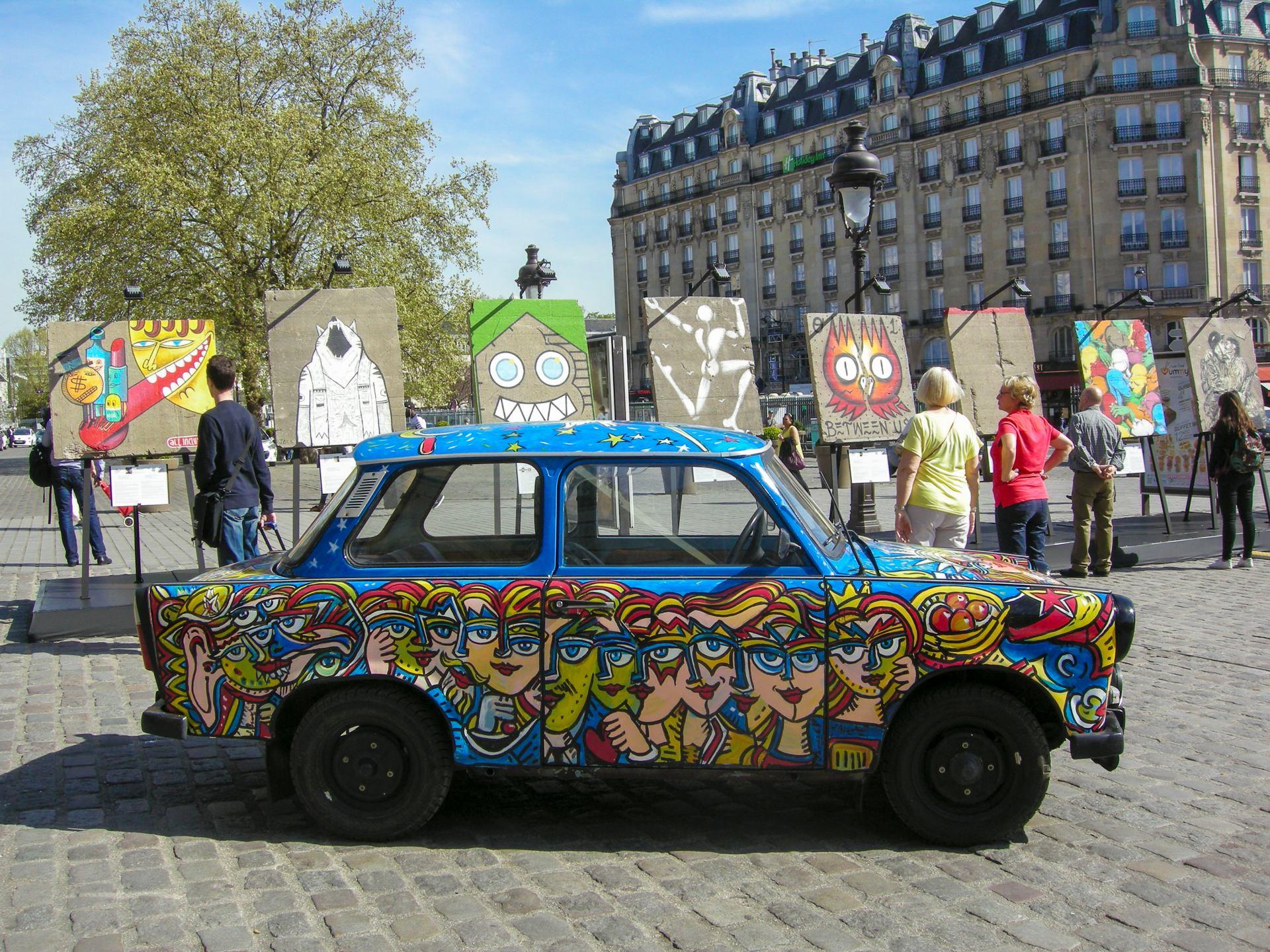 Art liberté : Du Mur de Berlin au Street Art