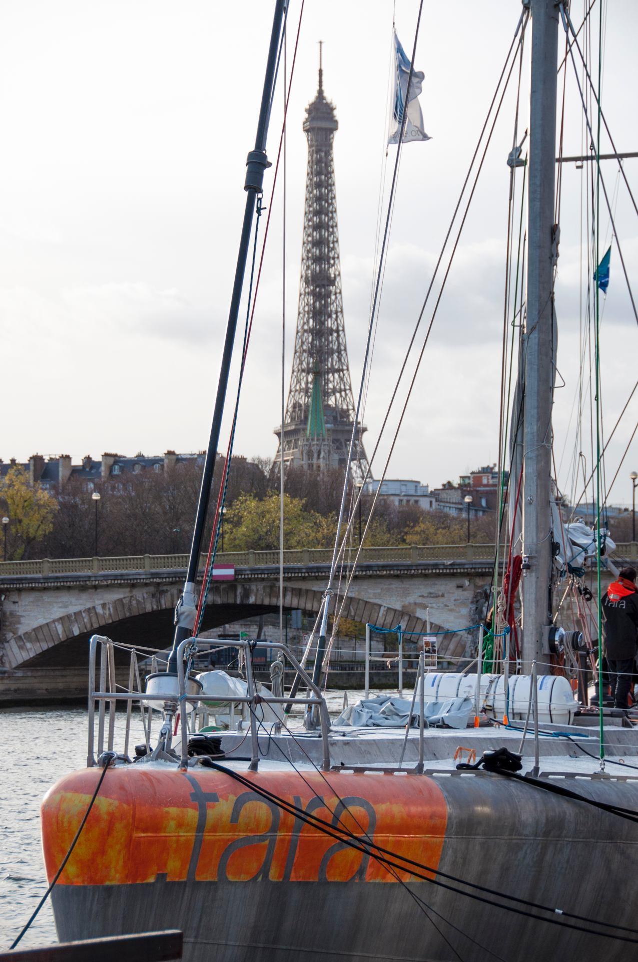 TARA à Paris
