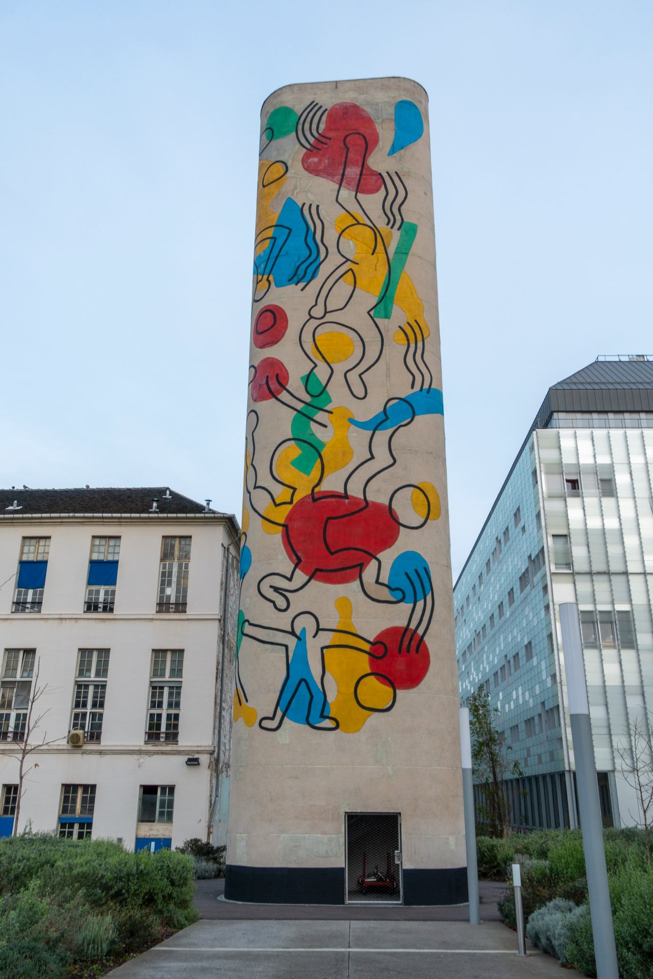 KEITH HARING (1958-1990) Paris : Hôpital Necker - Enfants malades
