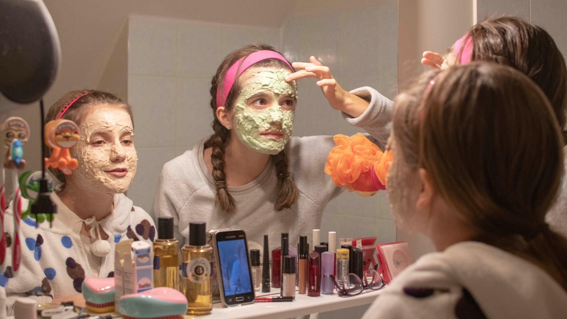 Le masque de beauté