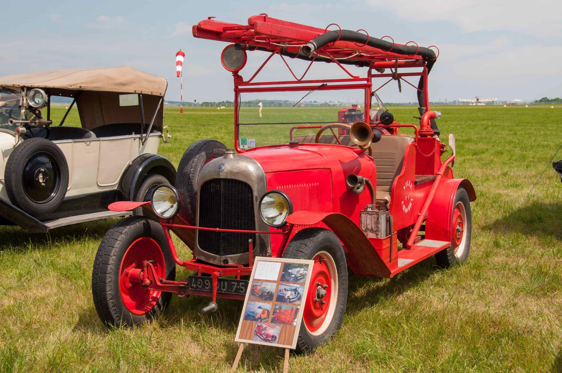 Camion de Pompier Citroën 1932