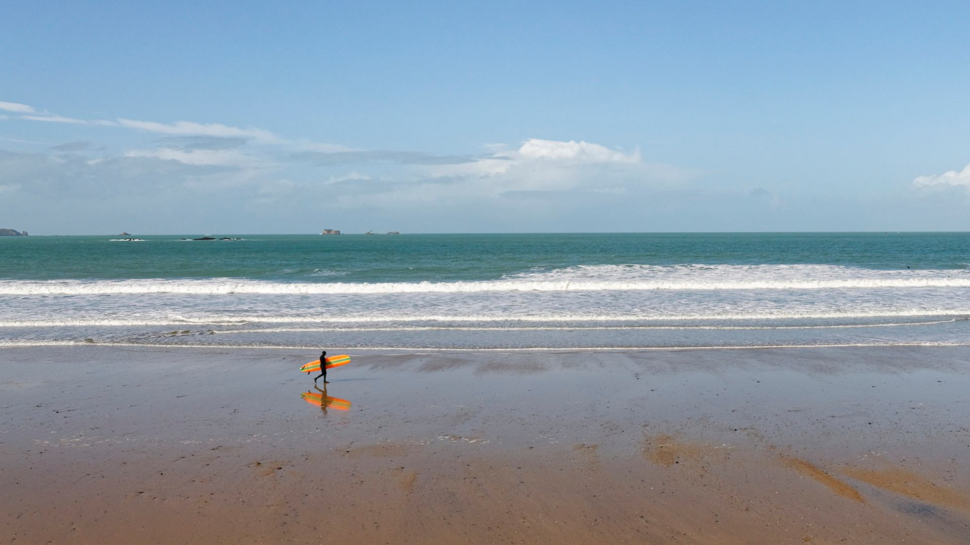 Surfer solitaire