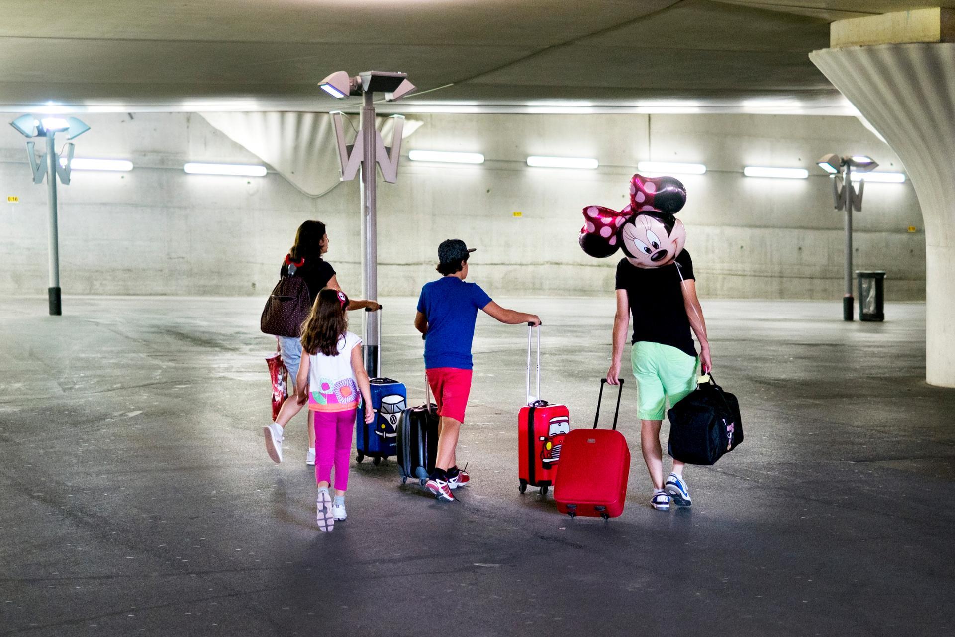 Le départ en vacances