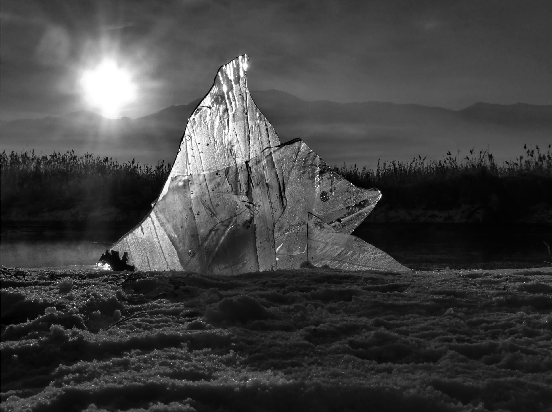 voilier de glace fantome