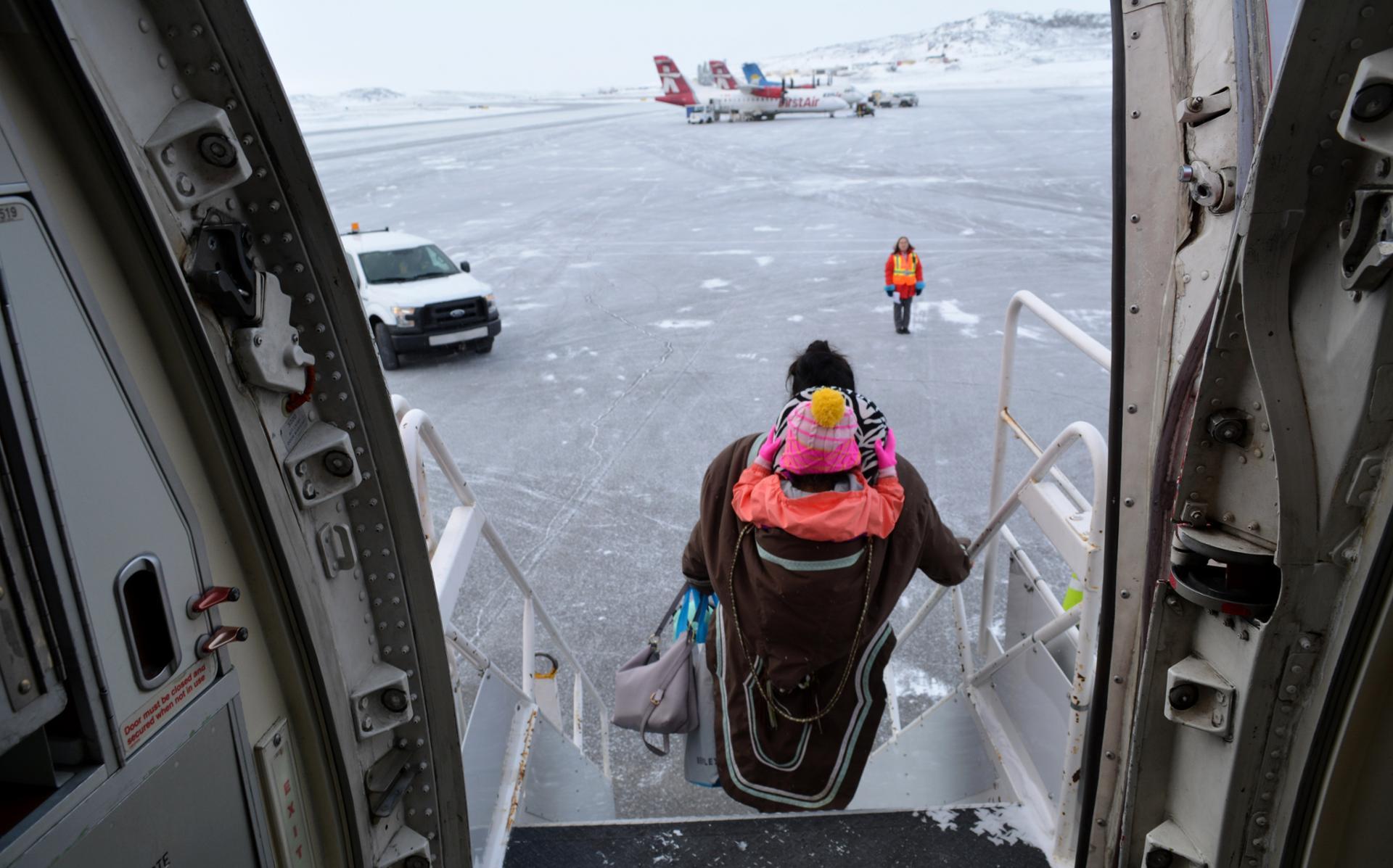 Arrivée à Iqaluit