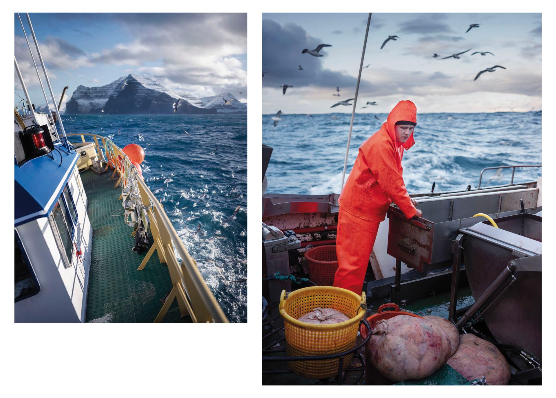 Fisherman & its boat