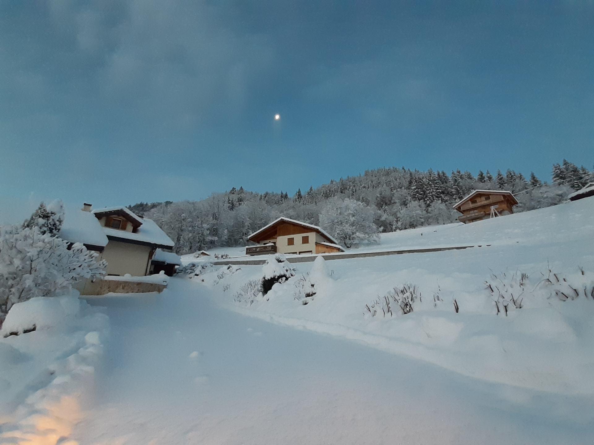 Premières neiges du matin