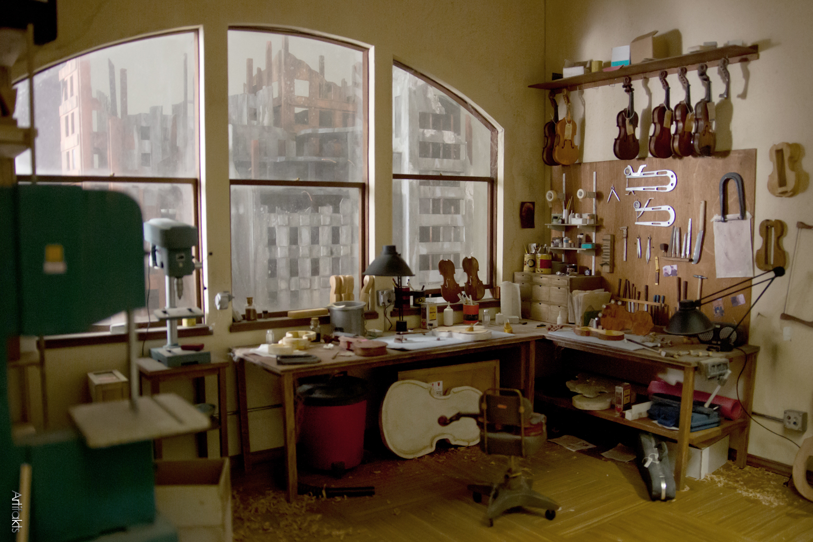 Atelier miniature