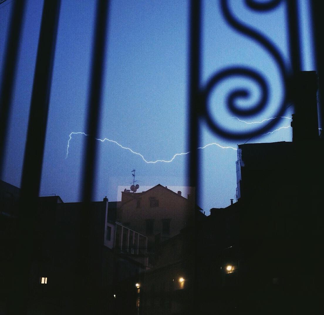 orage à la Milanaise