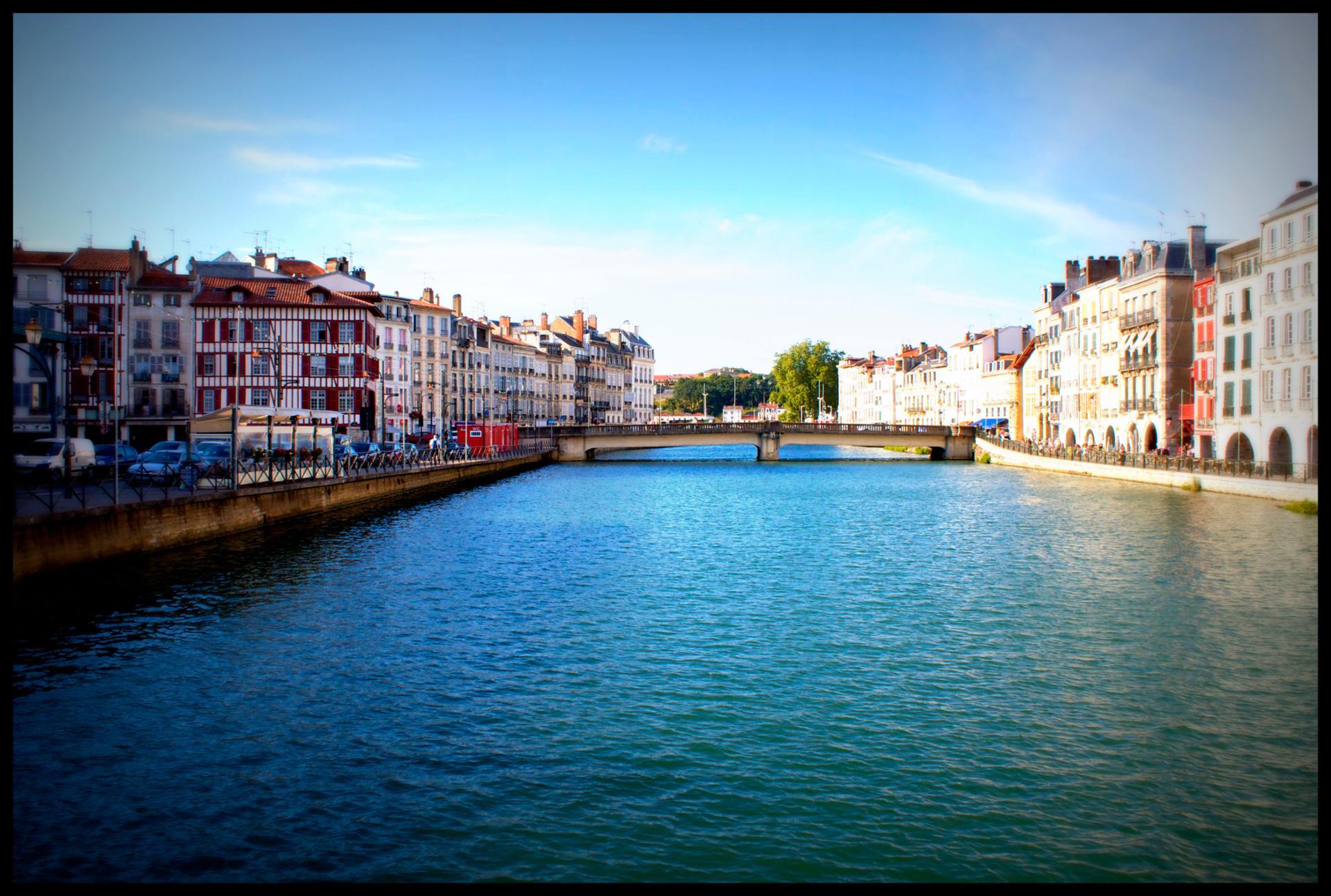 Bayonne, Bayonne sur la Nive ...