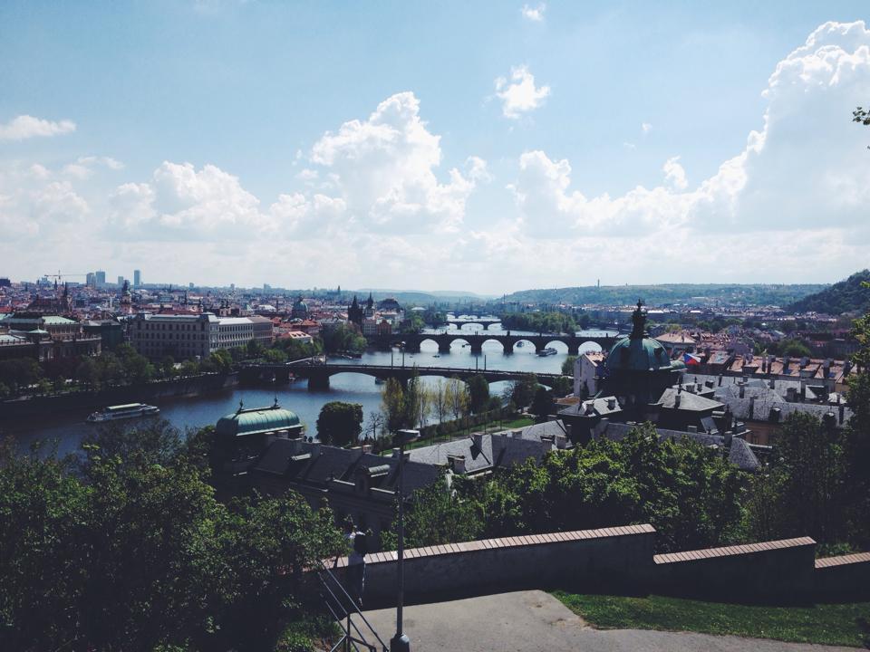 La Vltava, le fleuve