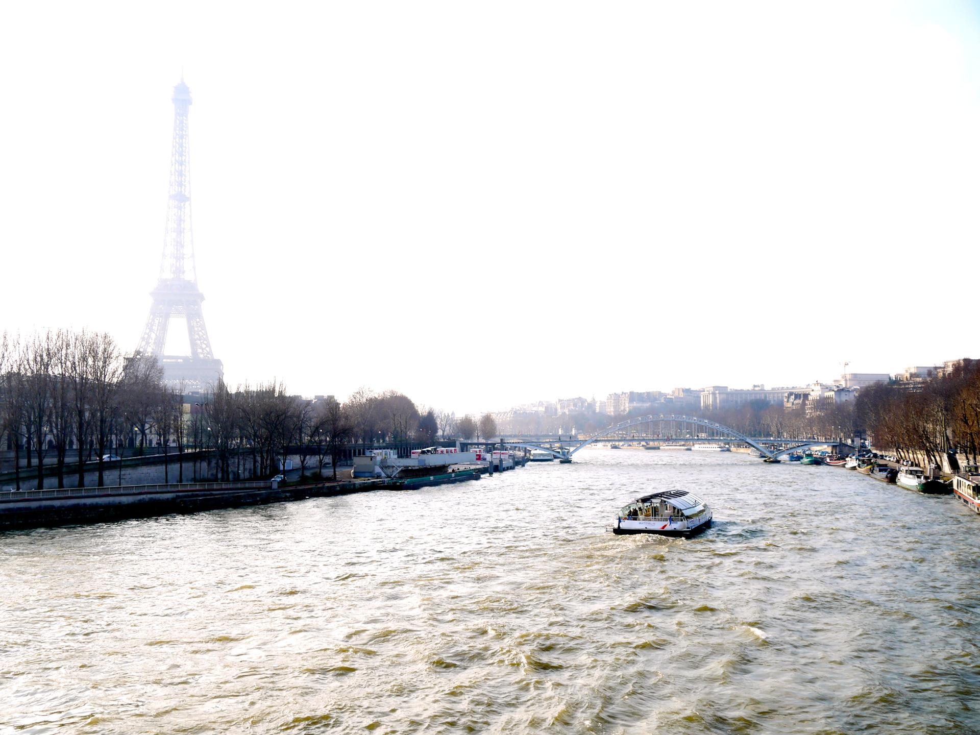 Parce que la Seine sait se mettre en avant ...