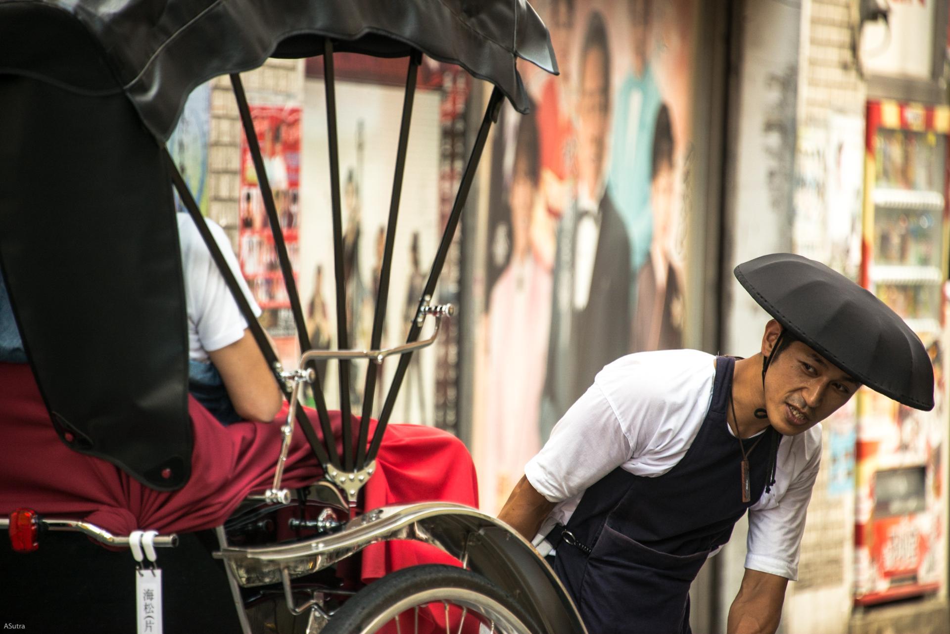Rickshaw, Tokyo