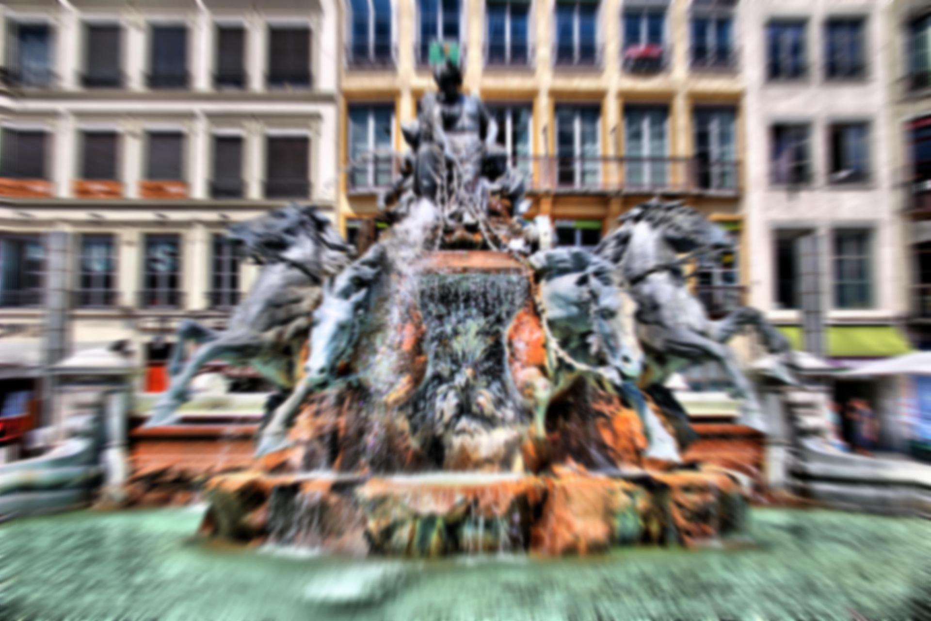 fontaine des terraux LYON