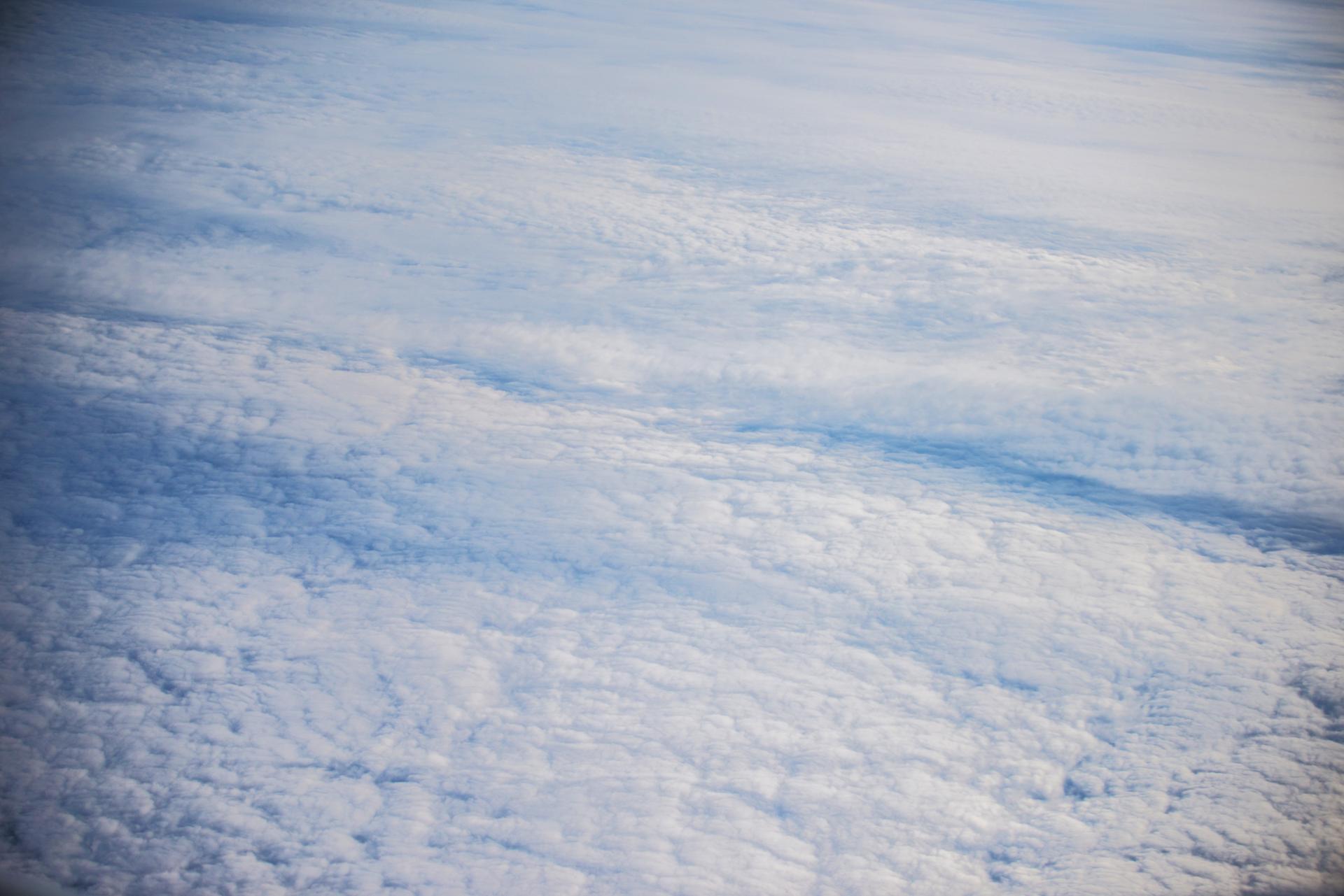 le ciel vu du dessus